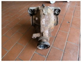 BMW E39 530d Differential Hinterachsgetriebe Ü=2,81  1428575