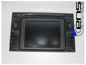 Skoda Superb 3U Navigations Autoradio CD Blaupunkt...